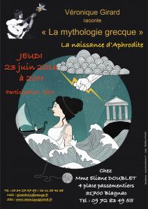 Soirée Mythologie grecque à Blagnac